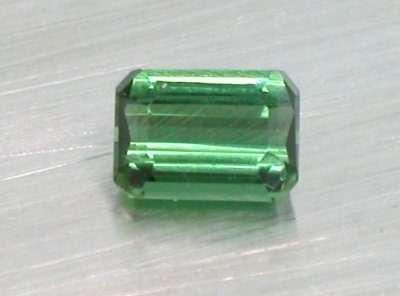 Green Tourmaline Emerald Cut (7mm x 5mm)