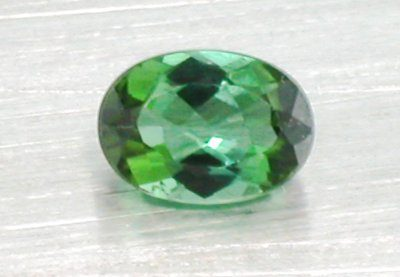 Green Tourmaline Oval (8mm x 6mm)-1